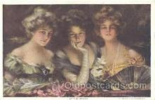 art121128 - Artist Philip Boileau Postcard Post Card