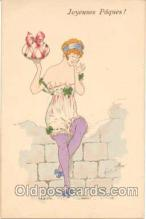 art126002 - Artist Signed Rene Gillis Postcard Post Card