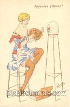 art126003 - Artist Signed Rene Gillis Postcard Post Card