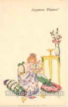 art126005 - Artist Signed Rene Gillis Postcard Post Card