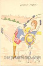 art126007 - Artist Signed Rene Gillis Postcard Post Card