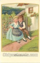 art127006 - Artist Signed Pauli Ebner Postcard Post Card