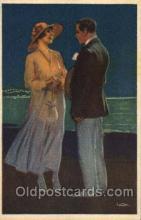 art129035 - Artist Metlocovitz Postcard Post Card