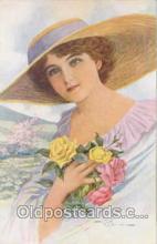 art133005 - Artist Signed Faini (Italy) Postcard Post Card