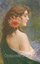 art136011 - Artist Signed E. Meier (Germany) Postcard Post Card