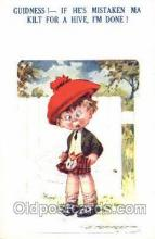 art147002 - Artist Tempest Postcard Post Card, Comic Kids Series # 20