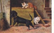 art151082 - Artist Sperlich, Cat, Cats, Postcard Post Card
