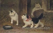 art151084 - Artist Sperlich, Cat, Cats, Postcard Post Card