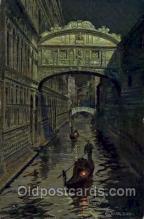art153017 - Artist Guerzoni Postcard Post Card