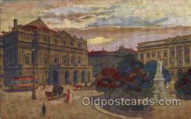art153023 - Artist Guerzoni Postcard Post Card
