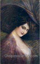 art153024 - series 2687-6 Artist Guerzoni, Postcard Post Card