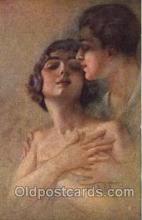 art153028 - series 1028-1 Artist Guerzoni, Postcard Post Card
