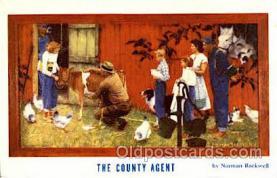 art155006 - Norman Rockwell Postcard Post Card