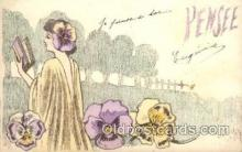 art170002 - Artist St. Maxen Postcard Post Card