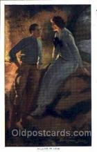 art171004 - Artist Alfred Dewey, (USA) Postcard Post Card