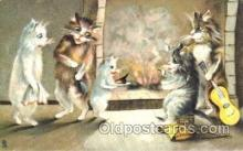 art175012 - Artist Maurice Boulanger (France) Comic Cat, Cats, Postcard, Post Card