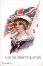 Great Britain,  Artist Ethal C. Brisley (United Kingdom Artist) Postcard Post Card