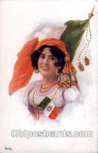 Italy,   Artist Ethal C. Brisley (United Kingdom Artist) Postcard Post Card