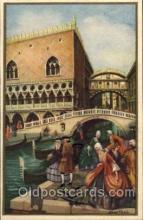 art181003 - Barocco Veneziano Artist Bertani Postcard Post Card