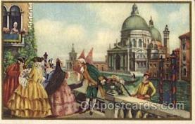art181005 - Barocco Veneziano Artist Bertani Postcard Post Card