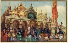 art181006 - Barocco Veneziano Artist Bertani Postcard Post Card