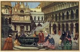 art181007 - Barocco Veneziano Artist Bertani Postcard Post Card