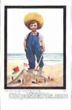 art199011 - series 1392 Artist Wall, Postcard Post Card