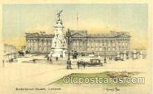 art202012 - Buckingham Palace, London, Artist Joseph Pike, Postcard Post Card