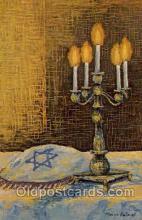 art203005 - Artist Morris Katz, Judaic, Judaica, Postcard Post Card