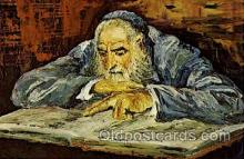 art203024 - Artist Morris Katz, Judaic, Judaica, Postcard Post Card