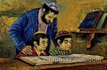 art203025 - Artist Morris Katz, Judaic, Judaica, Postcard Post Card
