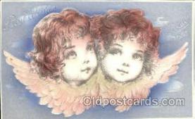 art210002 - Artist Frances Brundage, Christmas Postcard Post Card