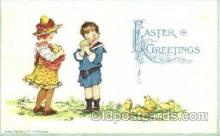 art210003 - Artist Frances Brundage, Easter Postcard Post Card