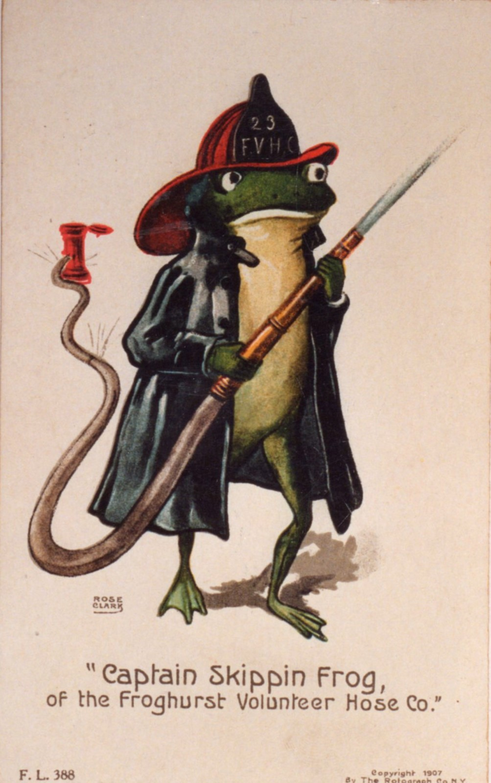 Frog Postcard Example