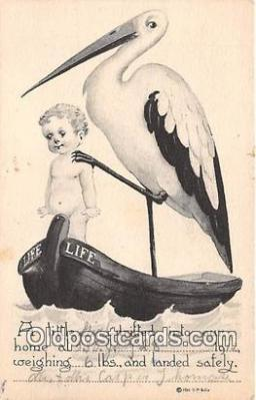 bab001023 - A Little Girl  Postcard Post Card