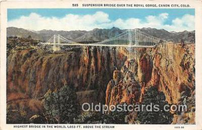 Suspension Bridge, Royal Gorge