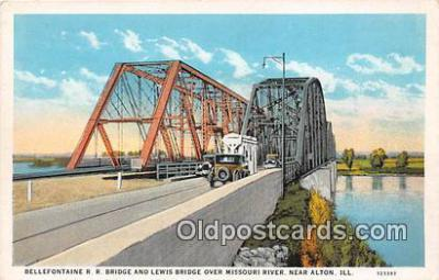 Bellefontaine RR Bridge & Lewis Bridge