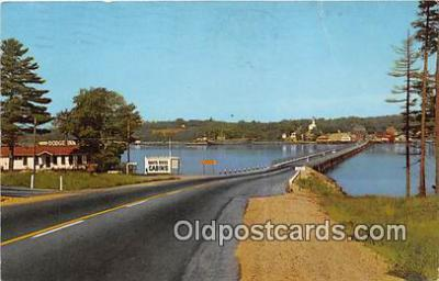 Bridge Connecting Wiscasset, Davis Island
