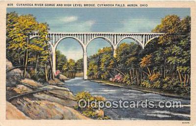 Cuyahoga River Gorge & High Level Bridge