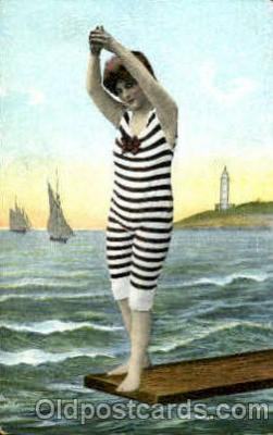 bea001098 - Bathing Beauty Post Card Post Card