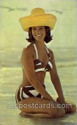 bea001214 - Bathing Beauty Old Vintage Antique Postcard Post Card