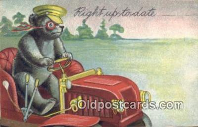 ber001836 - Right Up To Date Ottoman Lithographing Bears, Co. NY, Bear Postcard Bears, tragen postkarten, sopportare cartoline, soportar tarjetas postales, suportar cartões postais