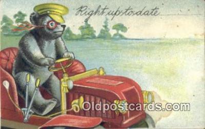 ber001844 - Right Up To Date Ottoman Lithographing Bears, Co. NY, Bear Postcard Bears, tragen postkarten, sopportare cartoline, soportar tarjetas postales, suportar cartões postais