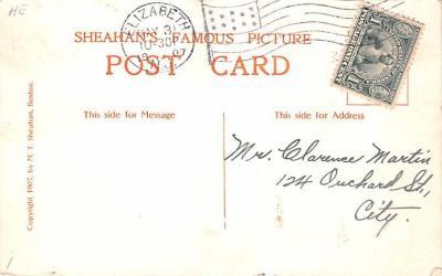 ber007019 - Bear Post Card Old Vintage Antique  back