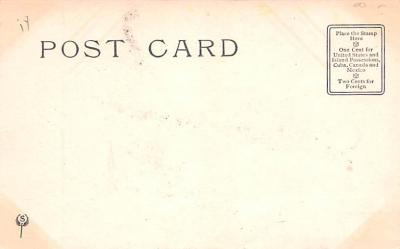 ber007035 - Bear Post Card Old Vintage Antique  back