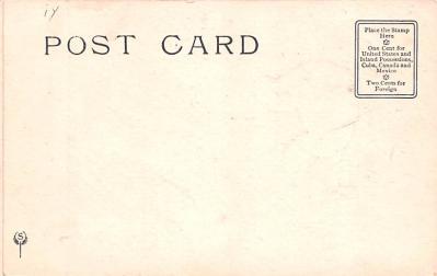ber007039 - Bear Post Card Old Vintage Antique  back
