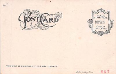 ber007109 - Bear Post Card Old Vintage Antique  back
