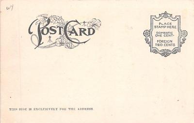 ber007111 - Bear Post Card Old Vintage Antique  back