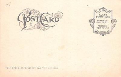 ber007115 - Bear Post Card Old Vintage Antique  back