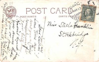 ber007155 - Bear Post Card Old Vintage Antique  back